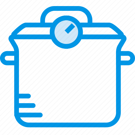 cooking, food, gastronomy, pot, pressure icon