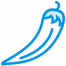 chilli, cooking, food, gastronomy, pepper icon