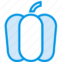 bell, cooking, food, gastronomy, pepper icon