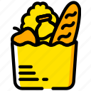 cooking, food, gastronomy, groceries icon