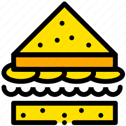 cooking, food, gastronomy, sandwhich icon