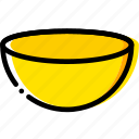 bowl, cooking, food, gastronomy icon