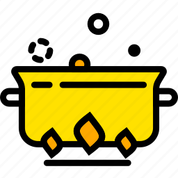 boiling, cooking, food, gastronomy, stew icon