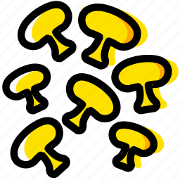 cooking, food, gastronomy, mushrooms icon