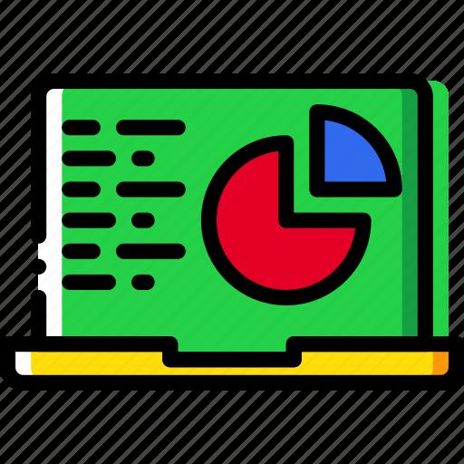 analytics, business, desk, desktop, office, tool icon