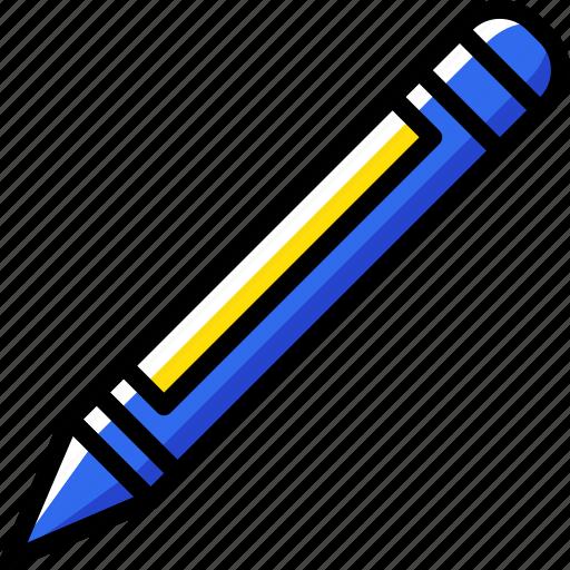business, desk, desktop, office, pencil, tool icon