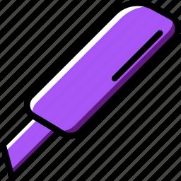 business, cutter, desk, desktop, office, tool icon
