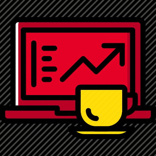 business, desk, desktop, office, tool, work icon
