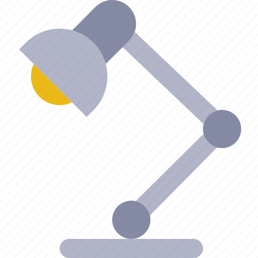 business, desk, desktop, lamp, office, tool icon