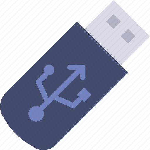 business, desk, desktop, office, tool, usb icon