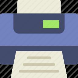 business, desk, desktop, office, printer, tool icon