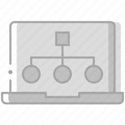 business, desk, desktop, diagram, office, tool icon