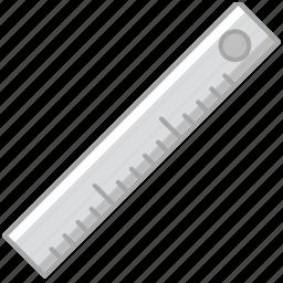 business, desk, desktop, office, ruler, tool icon