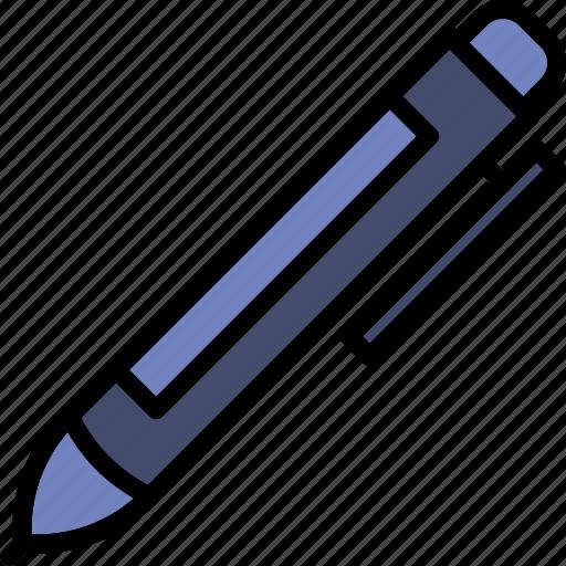business, desk, desktop, office, pen, tool icon