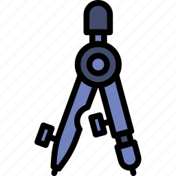 business, desk, desktop, measurement, office, tool icon
