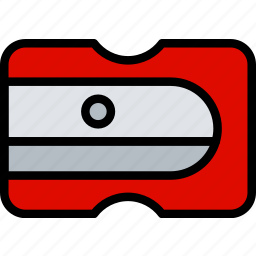 business, desk, desktop, office, sharpener, tool icon