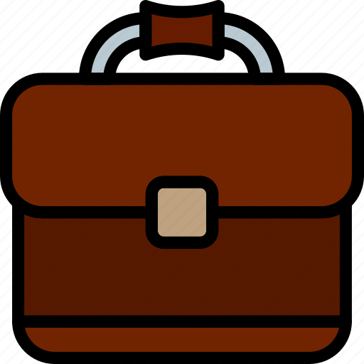 briefcase, business, desk, desktop, office, tool icon