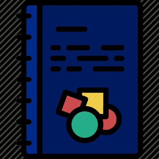 business, desk, desktop, notebook, office, tool icon