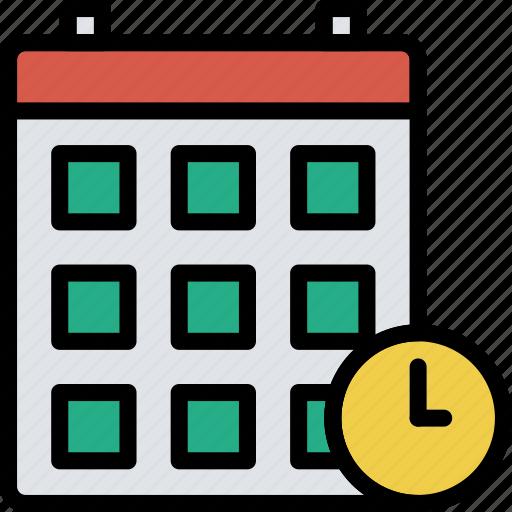 business, calendar, desk, desktop, office, tool icon