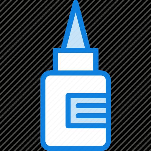 business, desk, desktop, glue, office, tool icon