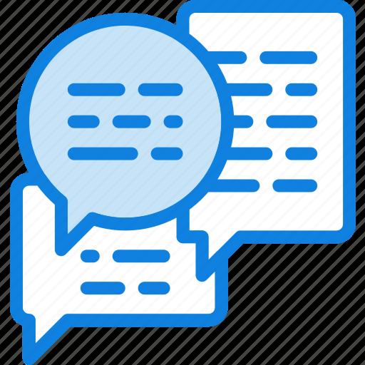 business, desk, desktop, messages, office, tool icon