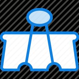 business, clip, desk, desktop, office, tool icon