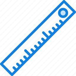 business, desk, desktop, office, ruler, tool icon