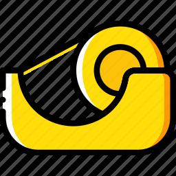 business, desk, desktop, gutter, office, tool icon