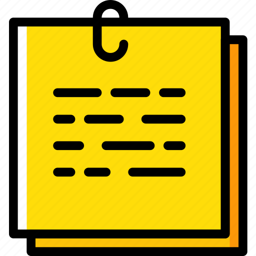 business, desk, desktop, notes, office, tool icon