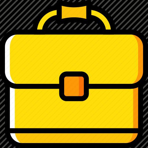 briefcase, business, desk, desktop, office, tool icon