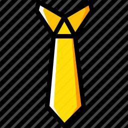 business, desk, desktop, office, tie, tool icon