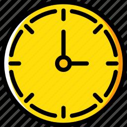 business, clock, desk, desktop, office, tool icon