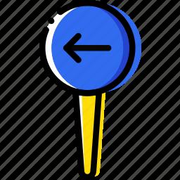 location, map, navigation, pin, upload icon