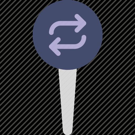location, map, marker, navigation, pin, refresh icon