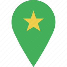 favorite, location, map, marker, navigation, pin icon