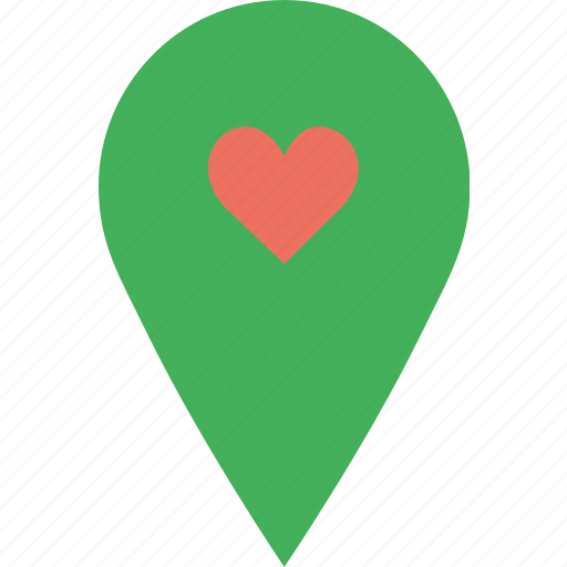 like, location, map, marker, navigation, pin icon