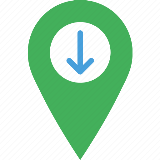 download, location, map, marker, navigation, pin icon