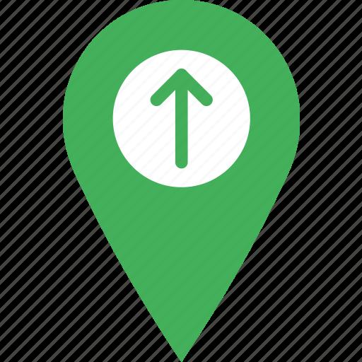 location, map, marker, navigation, pin, upload icon