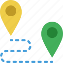 location, map, marker, navigation, pin, roadmap icon