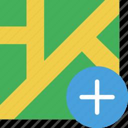 add, location, map, marker, navigation, pin icon