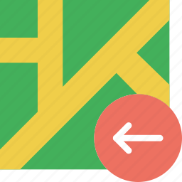 location, map, marker, navigation, pin, upload icon