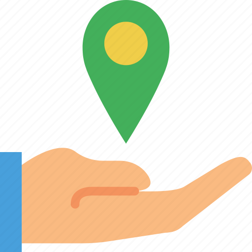 give, location, map, marker, navigation, pin icon