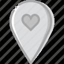 like, location, map, navigation, pin