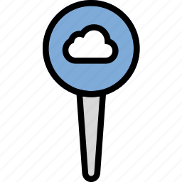add, cloud, location, map, navigation, pin icon