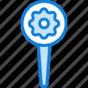 location, map, navigation, pin, settings icon