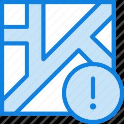 map, navigation, pin, warning icon