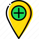 add, location, map, navigation, pin icon