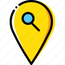 location, map, navigation, pin, search