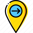 download, location, map, navigation, pin icon