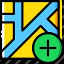 add, map, navigation, pin icon